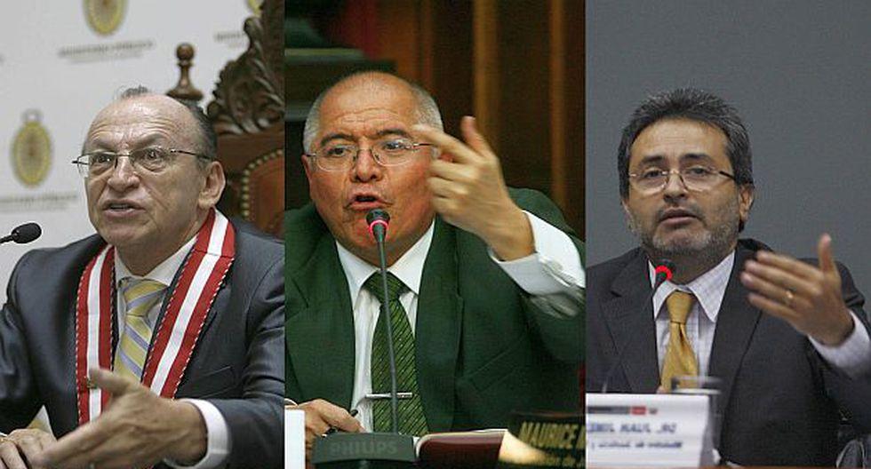 Peláez, San Martín y Jiménez tienen mucho que explicar. (USI)