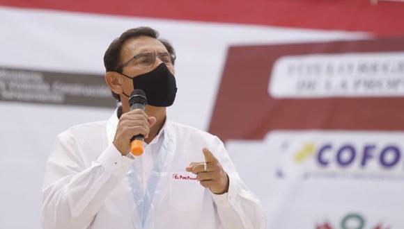 Por ahora, gobierno. Martín Vizcarra es investigado por presuntos pagos de coimas del Club de la Construcción. (Foto: GEC)