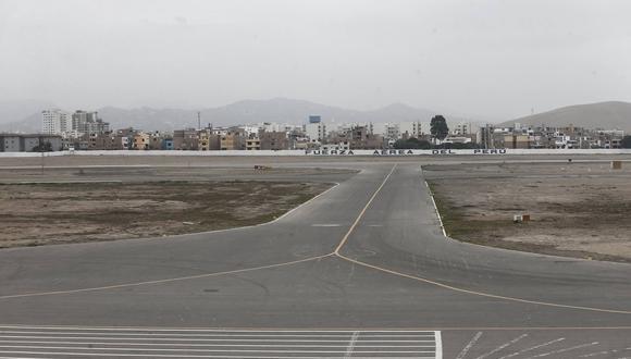 Una opción. Base Las Palmas es de 590 mil metros cuadrados.