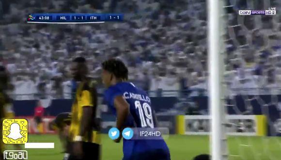 Mira el gol de André Carrillo. (Foto BeIn Sport)