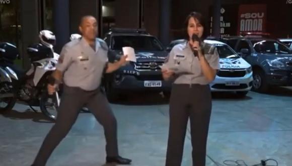 El capitán Duarte exhibió espontáneamente su dominio del baile durante un directo transmitido en YouTube para recaudar alimentos para los más necesitados. (Foto: YouTube)
