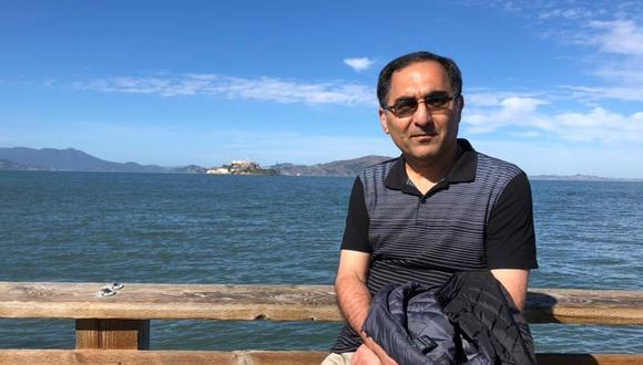 Irán anuncia el regreso inminente de uno de sus científicos detenido en EE.UU. Se trata de Sirous Asgari, un científico encarcelado en Estados Unidos acusado de robo de secretos industriales durante una visita académica a Ohio y que el mes pasado contrajo el coronavirus. (Familia Asgari)