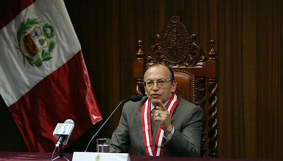 Peláez Bardales tuvo duras palabras para la ahora destituida magistrada. (USI)