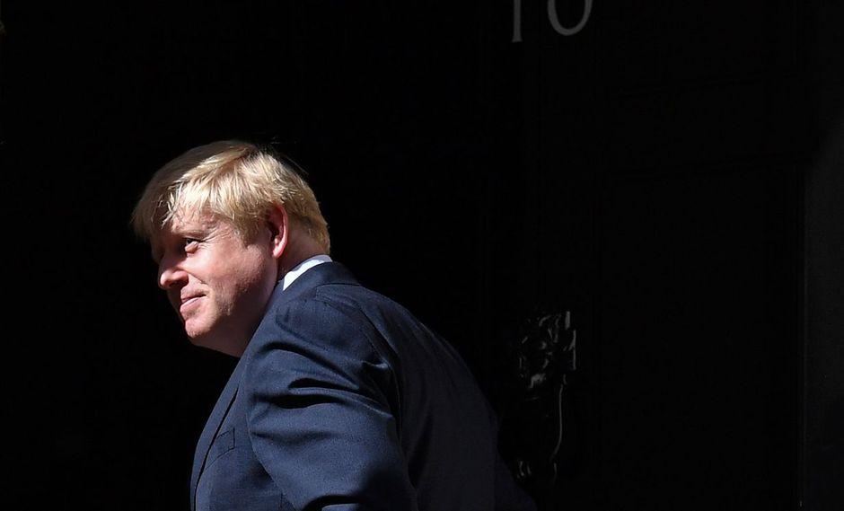 Boris Johnson, primer ministro del Reino Unido. (Foto: AFP)