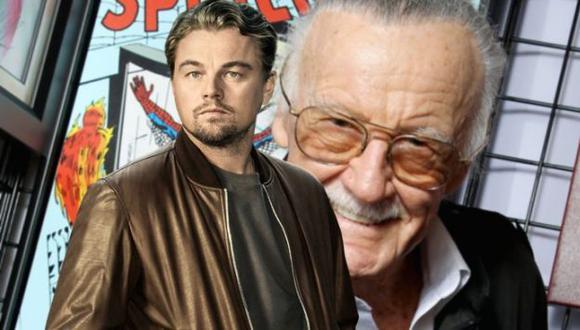 Leonardo DiCaprio es fanático de Marvel y así lo confirmó Stan Lee (Marvel)