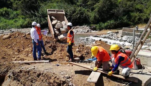 La ejecución de las obras beneficiará a aproximadamente 226 mil pobladores en todo el país. (Foto: Difusión)