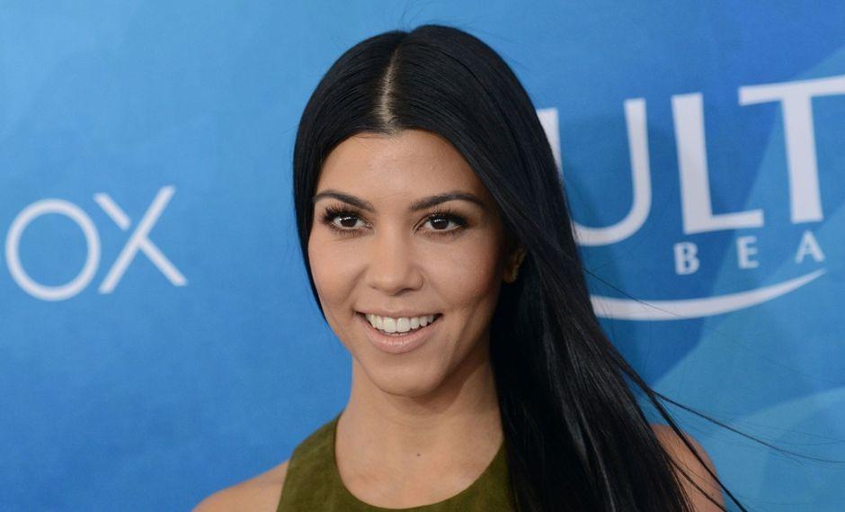 La publicación de Kourtney Kardashian acumuló más de un millón de 'likes'. (Foto: AFP)