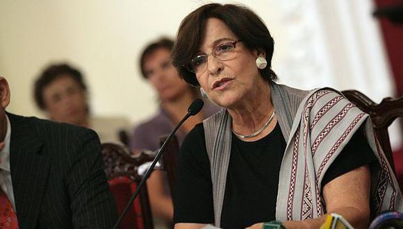 Susana Villarán podría recibir una pena privativa de libertad no mayor de dos años. (USI)
