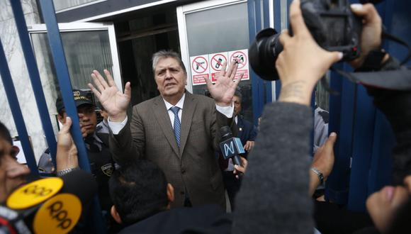 """El fiscal José Domingo Pérez consideró """"inusual"""" que el expresidente Alan García haya tomado la decisión de suicidarse para evitar ser detenido. (Foto: GEC)"""
