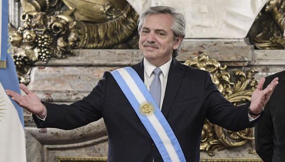 Alberto Fernández anunció que este martes enviará al Congreso un proyecto de ley para legalizar la interrupción voluntaria del embarazo. (Foto: AFP).