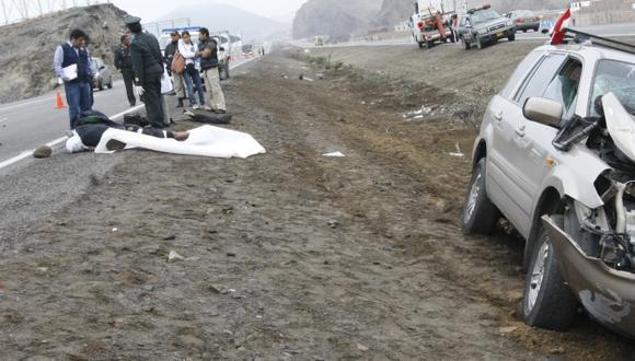 Policía Nacional desconoce las causas del accidente. (Referencial/USI)