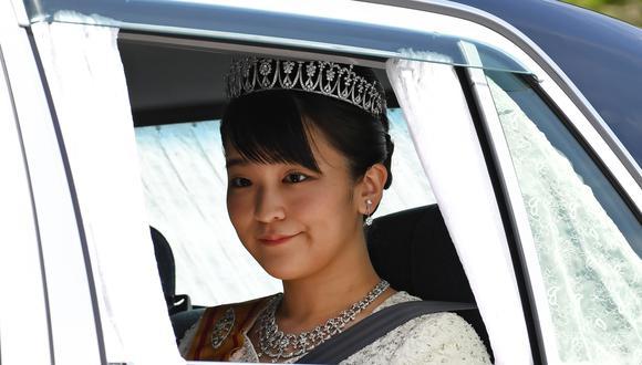 La princesa Mako es la sobrina del emperador Naruhito de Japon. (AFP)