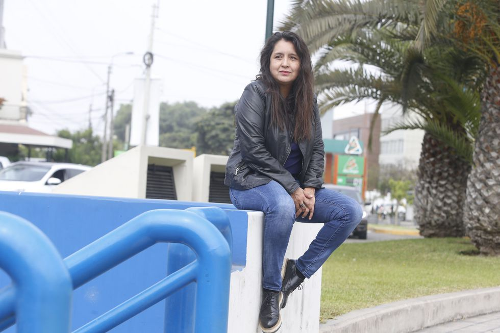 Isolda Morillo, autora de 'El amante ideal' (Mario Zapata/Perú21).