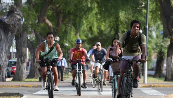 Según el MTC, apenas el 1% de limeños utiliza las bicicletas como medio de desplazamiento.(Foto: GEC)