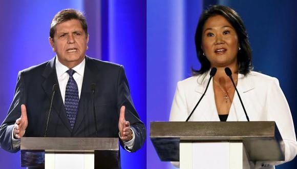 Keiko Fujimori y Alan García aún tienen procesos de exclusión por resolver. (USI)
