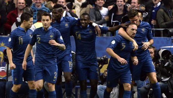 Francia será una de las ocho selecciones europeas que jugará el repechaje. (AFP)