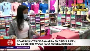 Comerciantes del Emporio Comercial de Gamarra piden ayuda al gobierno para no desaparecer