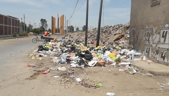 La basura generada a diario equivale a 0.8 kilos por persona.