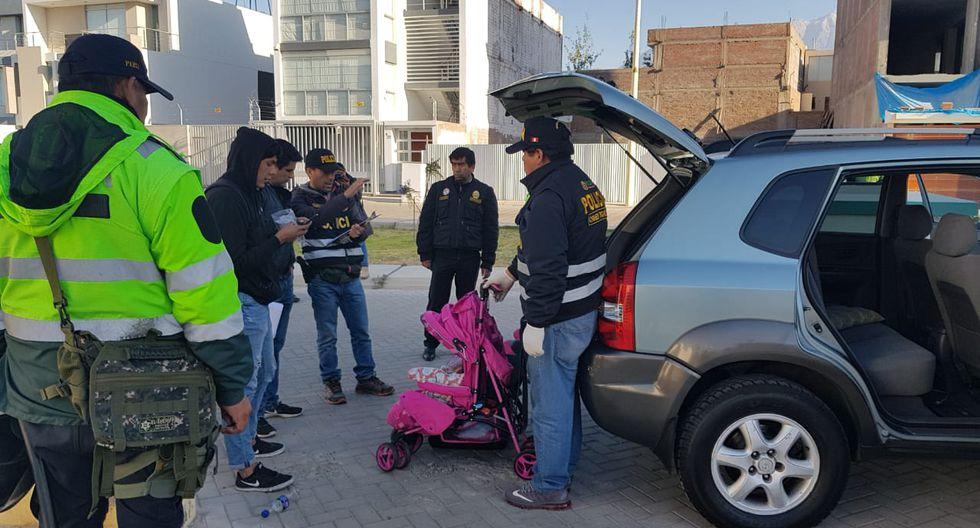 Desarticulan banda de tráfico de bebés en Arequipa (Lino Mamani)