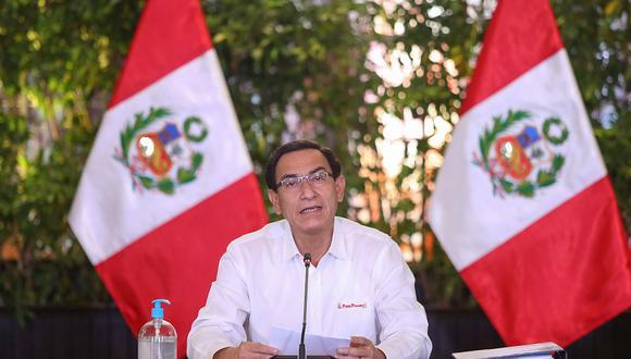 Martín Vizcarra dijo que siempre que viaja a regiones responde directamente a medios de comunicación. (Foto: Presidencia)