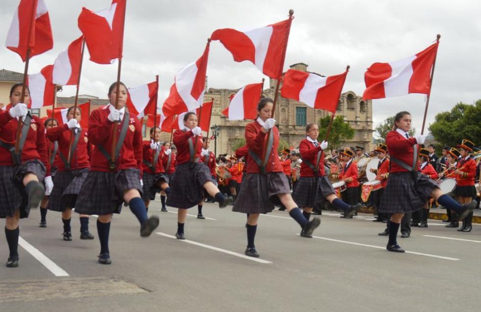 Desfile escolar de Fiestas Patrias fue suspendida en la región Junín. (USI)