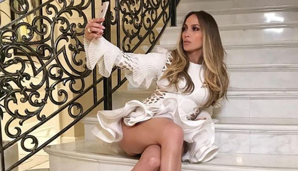 "Jennifer Lopez comparte video bailando ""Medicine"" en pijama (Foto: Instagram)"