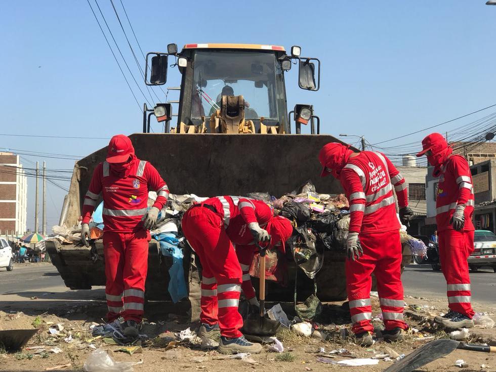 Hoy se recolectaron al menos 320 toneladas de desperdicios en la ciudad.