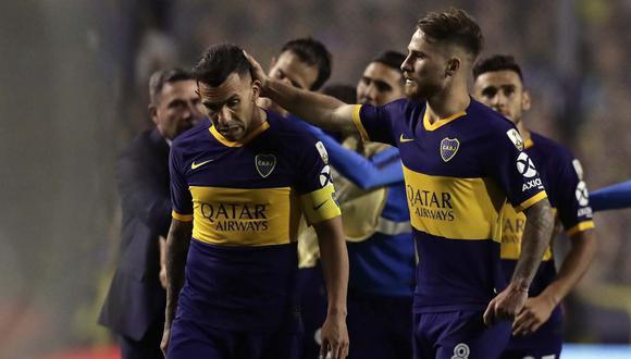 La confusión de Conmebol con el aniversario de Boca Juniors. (Foto: AFP)