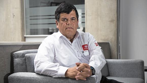 """Carlos Paredes calificó de """"cojuda"""" a la ministra en un audio enviado a una persona no identificado. (Foto: GEC)"""