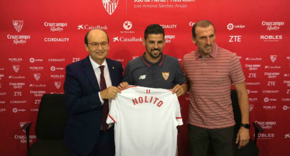 Nolito vestirá la camiseta del Sevilla. (Sevilla)