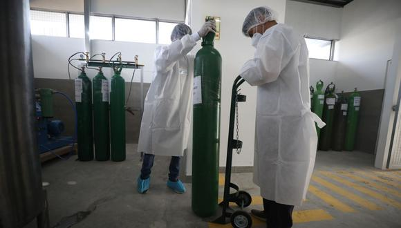 La Contraloría detectó deficiencias en la compra e instalación de plantas y concentradores de oxígeno. (Foto: Britanie Arroyo / GEC)