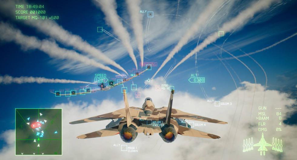 El nuevo tráiler de 'Ace Combat 7: Skies Unknown' llegará el próximo 18 de enero de 2019, a PS4, Xbox One, y PC vía STEAM.