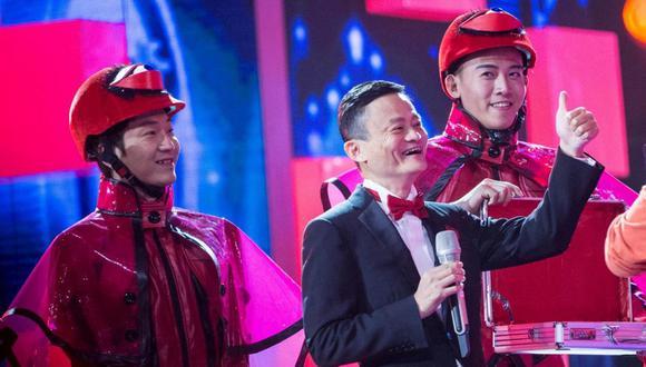 Jack Ma, fundador de Alibaba, fue la estrella comercial del evento. (Foto: Reuters)