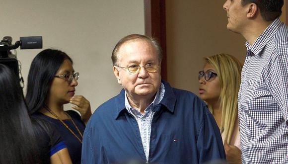 Los hijos de Alan García habían anunciado anteriormente que tomarían acciones legales contra Luis Nava Guibert. (Foto: EFE)