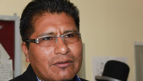 Puno: La defensa de Aduviri Calisaya indicó que en menos de 10 días se debe concretar la liberación del suspendido gobernador. (Foto: GEC)