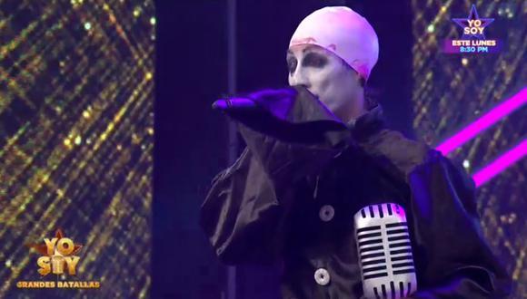 """La final de """"Yo Soy: Grandes Batallas"""" tuvo como finalistas a los imitadores de José José y Marilyn Manson. (Foto: Latina)"""