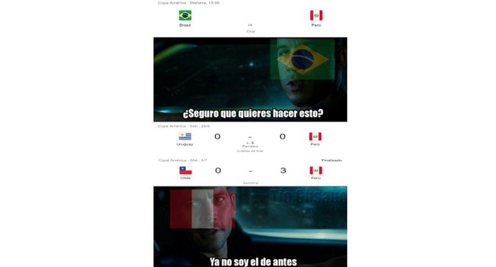 Perú. vs. Brasil