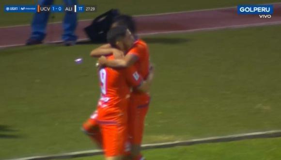 Santiago Silva anotó el 1-0 sobre Alianza Lima. (Captura: Gol Perú)