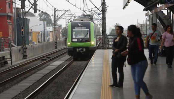 Los pasajeros podrán acudir a las sedes de los Juegos Panamericanos Lima 2019 a través de la Línea 1. (GEC)