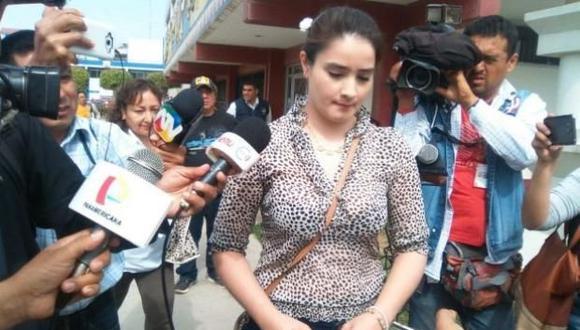 La Fiscalía pide cinco años de cárcel para 'La Jefa' por el presunto delito de colusión. (Nadia Quinteros)
