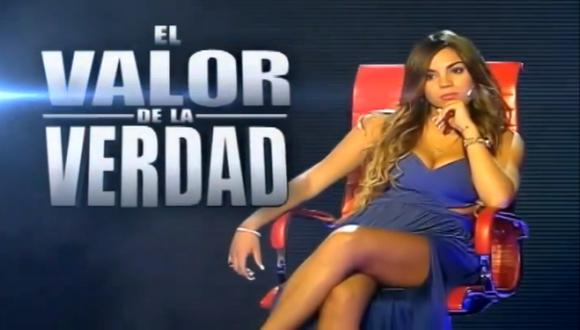 Aída Martínez estará este sábado en el sillón rojo. (Captura)