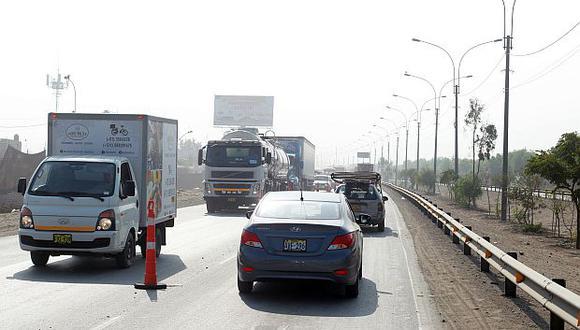 La Municipalidad de Lima propuso a Rutas de Lima un nuevo trazo para la ampliación de la autopista Ramiro Prialé para viabilizar la ejecución de las obras. (Foto: GEC)<br>