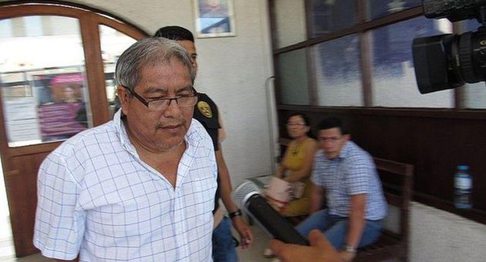 Manuel Decena se encuentra en la carceleta de la corte del Santa. (Ministerio del Interior)