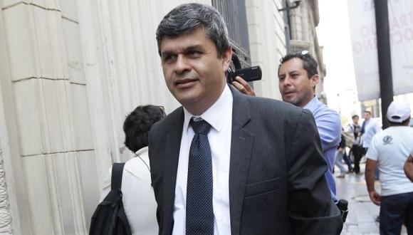 Gastañadui es investigado por el presunto delito de lavado de activos por el caso Heredia.(USI).