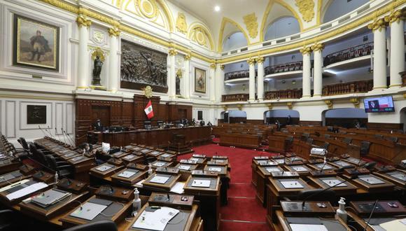 En el actual Congreso se ha tramitado casi una treintena de proyectos de ley para cambiar total y parcialmente la Constitución. (Foto: Congreso)