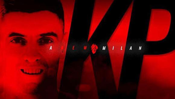 Krzysztof Piatek deja el Genoa para fichar por el Milan, que así cubrió el espacio que dejó Gonzalo Higuaín. (Foto: Twitter @acmilan)
