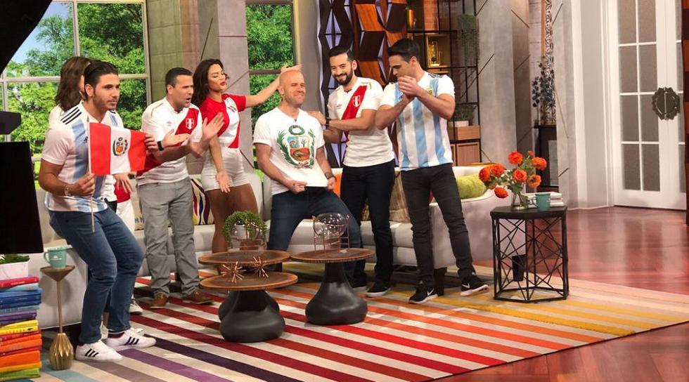 Gian Marco presentó su tema 'Bésame' en el programa 'Un nuevo día' en la cadena Telemundo. (Instagram: @gianmarcooficial)