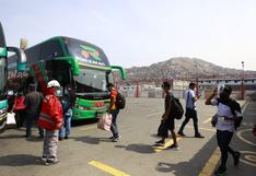 Plaza Norte y Yerbateros: Baja la demanda de pasajeros que intentan viajar a regiones a un día de las elecciones | FOTOS
