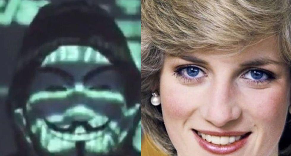 Redes sociales |  USA | ESTADOS UNIDOS | Anonymus revelaría pruebas de que la familia real mandó asesinar a la princesa Diana| Anonymus Mundo | Peru21