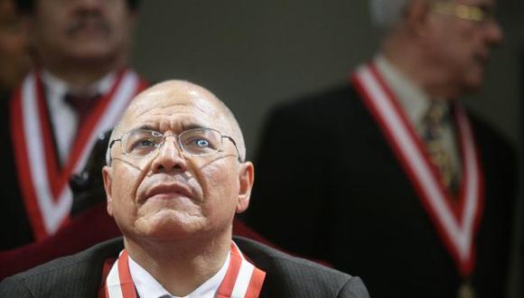 BAJO LUPA. El Consejo Nacional de la Magistratura podría suspenderlo si fuera hallado culpable. (Perú21)